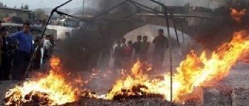 مهارآتش با 12 ماشین و 28 آتشنشان ، آتشسوزی در سیرک عجایب کرج